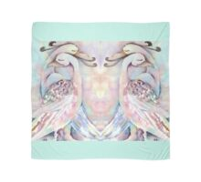 Love Birds Duo Watercolour Painting Alternate Options Scarf