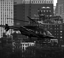 Manhattan Helicopters by Spyridoul