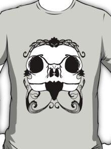 Owl Skull on Sanguine  T-Shirt