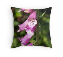 Flower Fuzz Throw Pillow