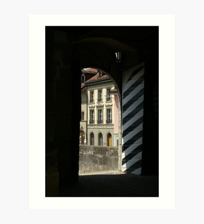 Romont castle' Art Print