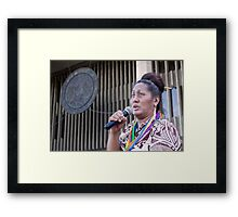Kumu Hinaleimoana Kwai Kong Wong-Kalu Framed Print