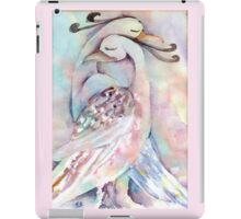 Pastel Love Birds Watercolour Painting  iPad Case/Skin