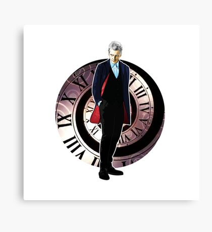The 12th Doctor - Peter Capaldi Canvas Print