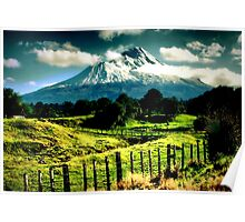 Mt Taranaki Poster