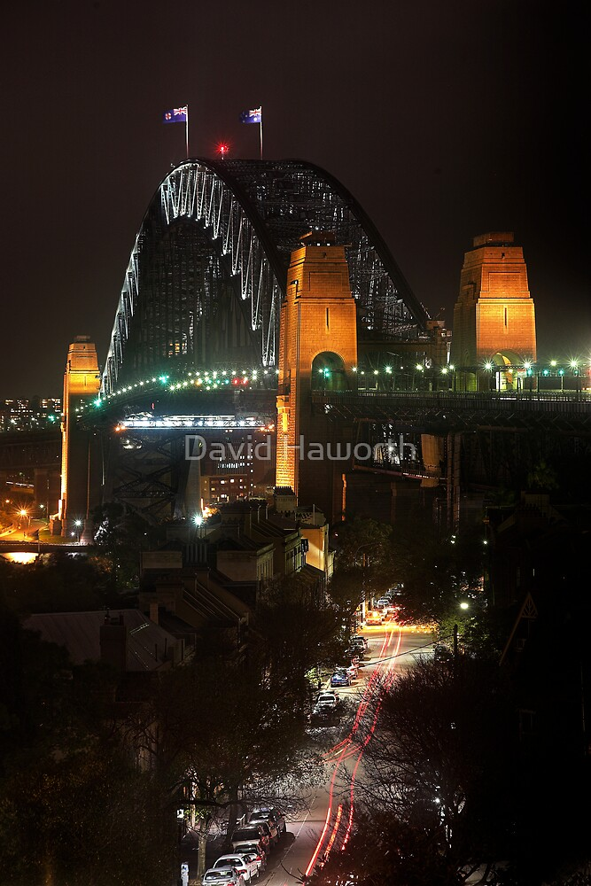 Rockin the Harbour Bridge by David Haworth