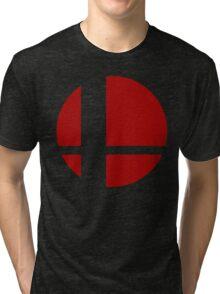Super Smash Bros Logo Tri-blend T-Shirt