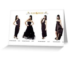 Fashion Look Book Example  © SHH09 Greeting Card