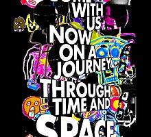 Come With Us Now On A Journey Through Time And Space (Colour 2)  by ador