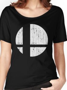 Super Smash Bros Logo Women's Relaxed Fit T-Shirt