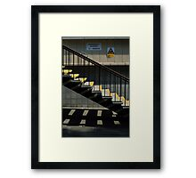 Step This Way Framed Print