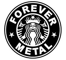 Forever metal music Photographic Print