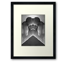 Black & white photo art Framed Print
