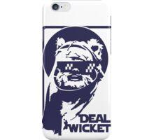 Deal Wicket - Blue iPhone Case/Skin