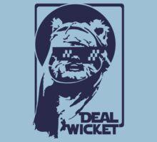 Deal Wicket - Blue by DavidpNelson