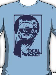 Deal Wicket - Blue T-Shirt