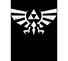 Triforce Crest - Legend of Zelda Photographic Print