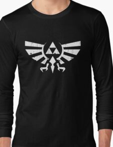 Triforce Crest - Legend of Zelda Long Sleeve T-Shirt