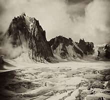 Glacier Mont Blanc by christopher davies