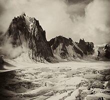 Glacier Mont Blanc by christopher davies