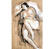 Woman nude Photographic Print