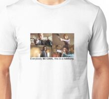 Pulp Fiction Characters and Guns (Diner Scene) Unisex T-Shirt