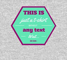 T-shirt without any text Unisex T-Shirt