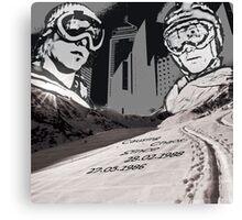 Tribute To Brotherhood Canvas Print
