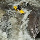 riding the rapids at the sinks by Christopher  Ewing