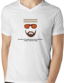 """The Royal Tenenbaums"" Richie Tenenbaum Tennis Match Mens V-Neck T-Shirt"