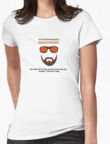 """""""The Royal Tenenbaums"""" Richie Tenenbaum Tennis Match Womens Fitted T-Shirt"""