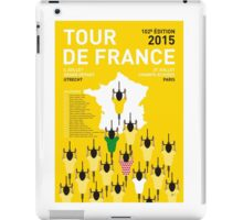 MY TOUR DE FRANCE MINIMAL POSTER 2015-2 iPad Case/Skin
