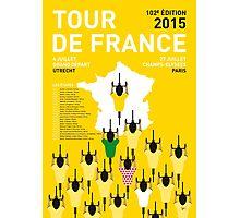 MY TOUR DE FRANCE MINIMAL POSTER 2015-2 Photographic Print