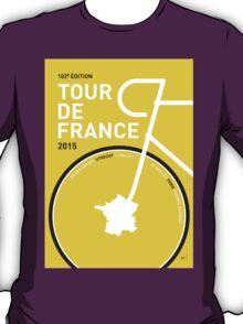 MY TOUR DE FRANCE MINIMAL POSTER 2015 T-Shirt