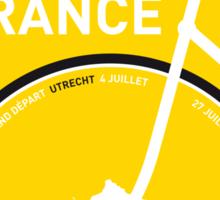 MY TOUR DE FRANCE MINIMAL POSTER 2015 Sticker