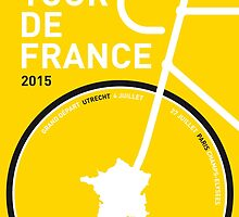 MY TOUR DE FRANCE MINIMAL POSTER 2015 by JiLong
