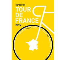 MY TOUR DE FRANCE MINIMAL POSTER 2015 Photographic Print