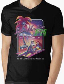 Rock Synthetix.FM  Mens V-Neck T-Shirt