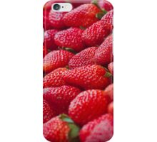 Strawberry on the street in Bangkok iPhone Case/Skin