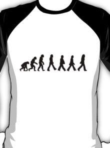 Human Evolution (The Beatles) T-Shirt