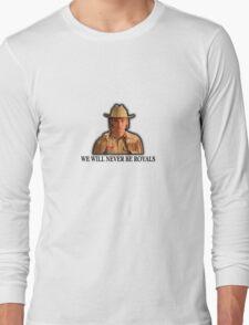 """LORDE"" We Will Never Be Royal Tenenbaums Long Sleeve T-Shirt"