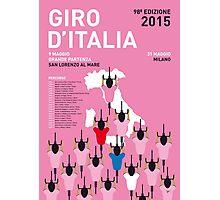MY GIRO D'ITALIA MINIMAL POSTER 2015-2 Photographic Print