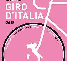 MY GIRO D'ITALIA MINIMAL POSTER 2015 by JiLong