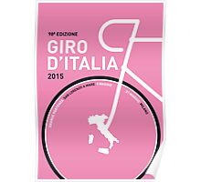 MY GIRO D'ITALIA MINIMAL POSTER 2015 Poster