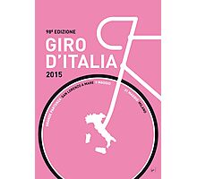 MY GIRO D'ITALIA MINIMAL POSTER 2015 Photographic Print