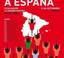 MY VUELTA A ESPANA MINIMAL POSTER 2015-2 by JiLong