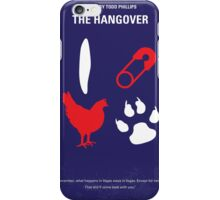 No145 My THE HANGOVER Part I minimal movie poster iPhone Case/Skin