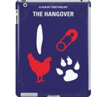 No145 My THE HANGOVER Part I minimal movie poster iPad Case/Skin