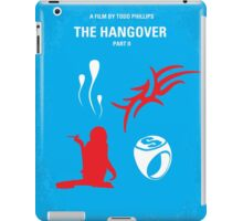 No145 My THE HANGOVER Part II minimal movie poster iPad Case/Skin