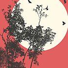 Moonset by Richard Laschon